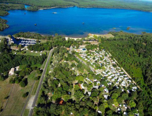 Liste Campings dans les landes | Campings acces lac
