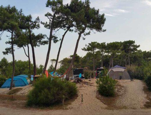 Liste Campings dans les landes | Campings location emplacement tente