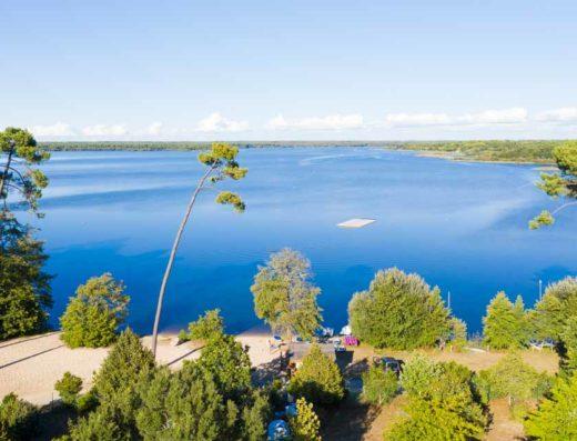 Liste Campings dans les landes | Campings lac