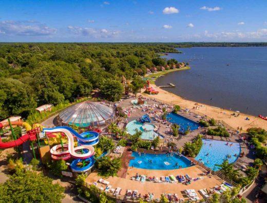 Liste Campings dans les landes | Campings parc aquatique acces lac
